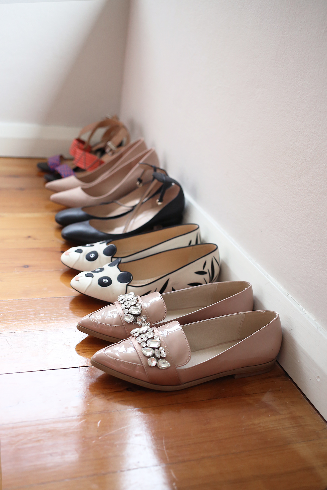 shoe collection embellished charlotte olympia