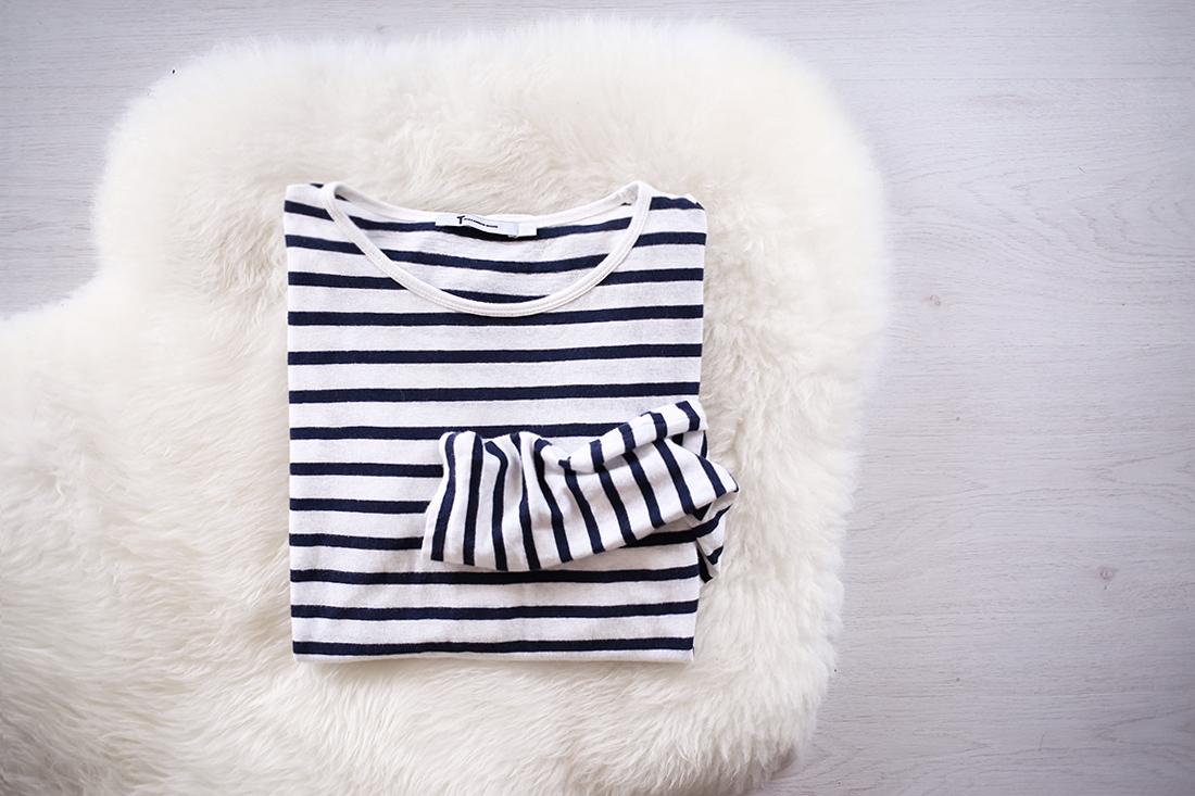 wardrobe essential breton stripe top alexander wang