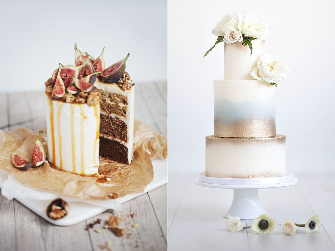 Wedding cakes | Mademoiselle | A Minimalist Fashion Blog