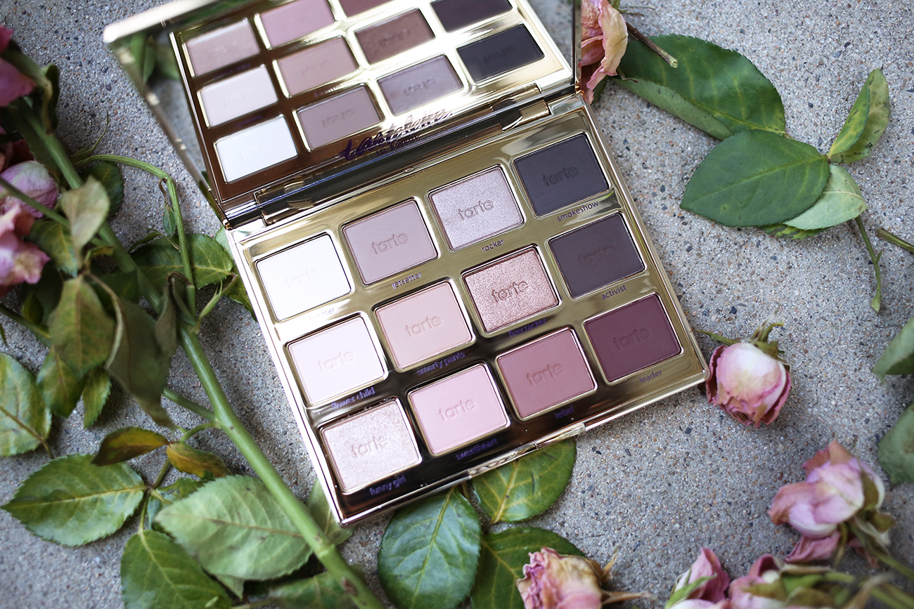 tarte tartelette in bloom palette review and swatches