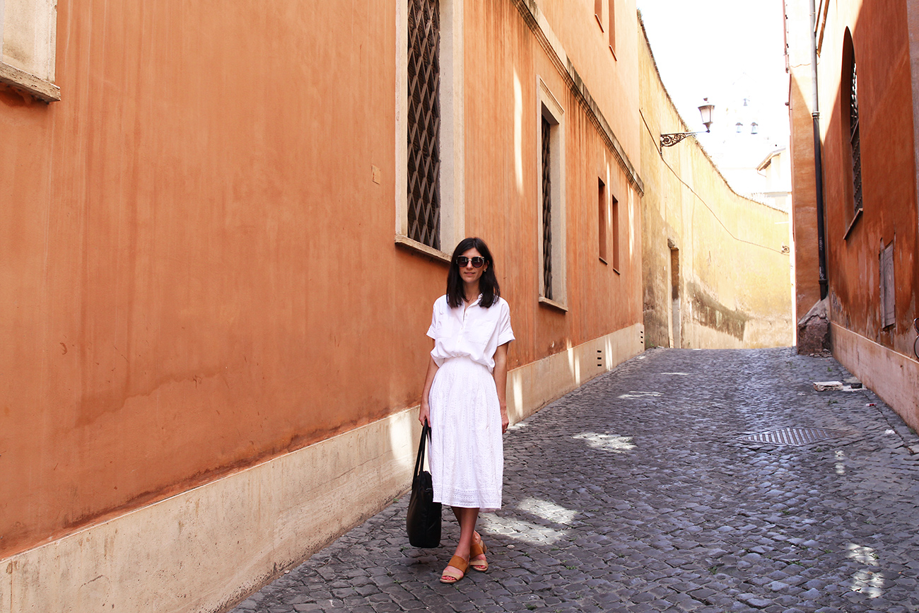 mademoiselle travels rome italy madewell lover the label asos outfit