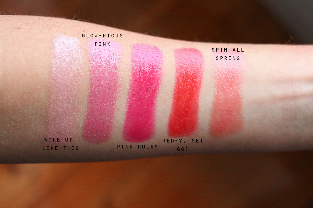rimmel moisture renew sheer shine lipstick review and swatches