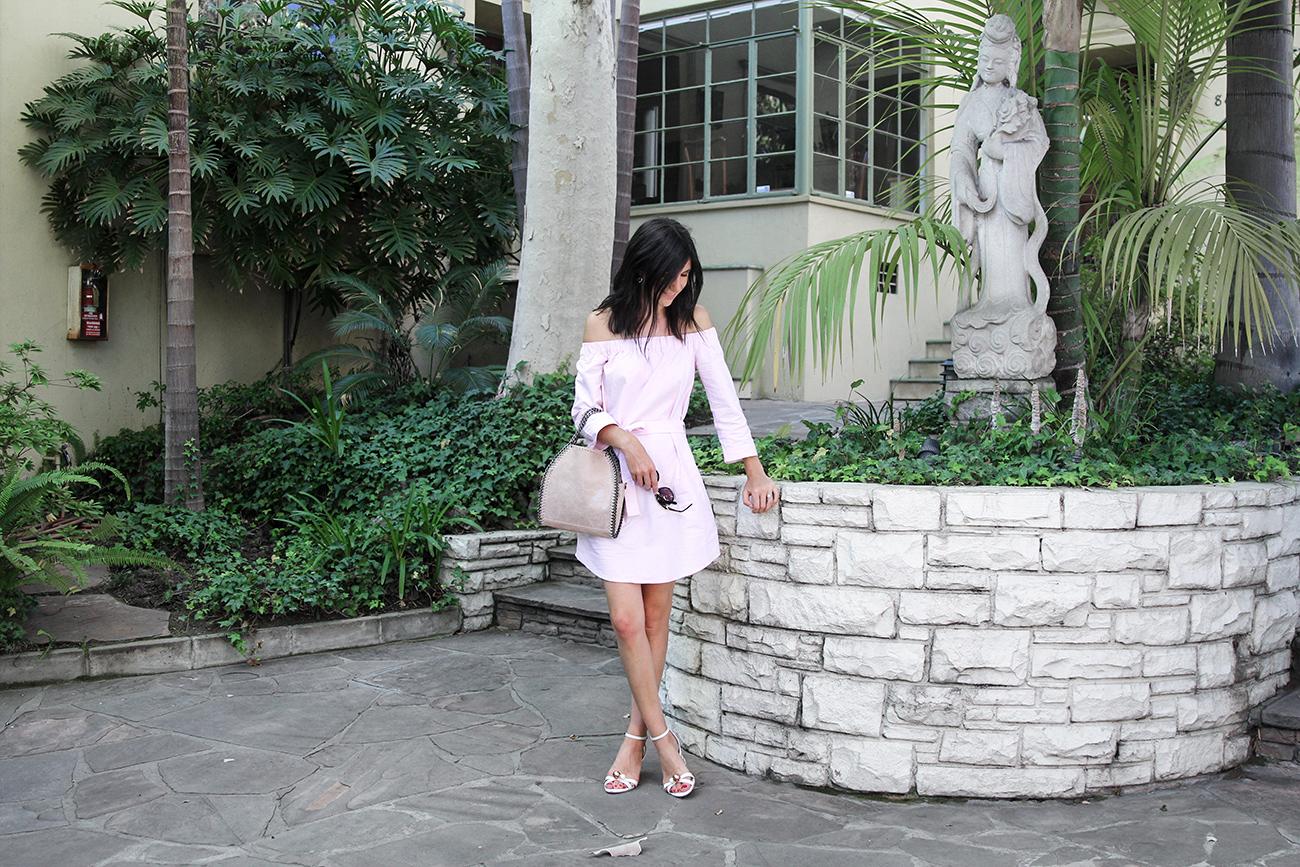 outfit ruby off shoulder vasilisa dress