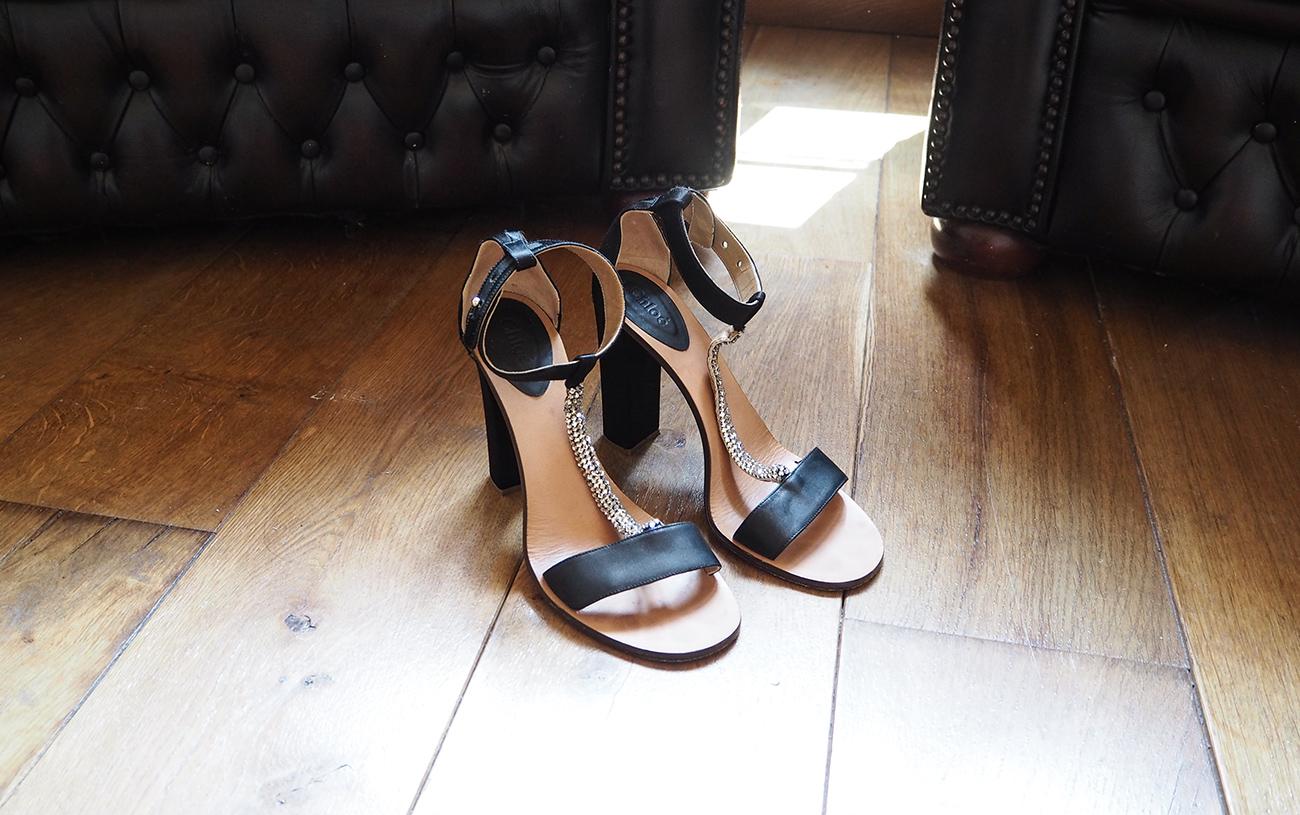 chloe crystal embellished sandals heels