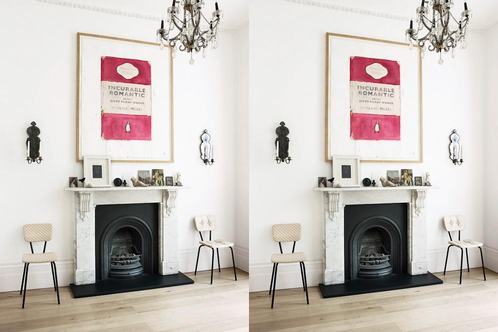 incurable romantic home decor