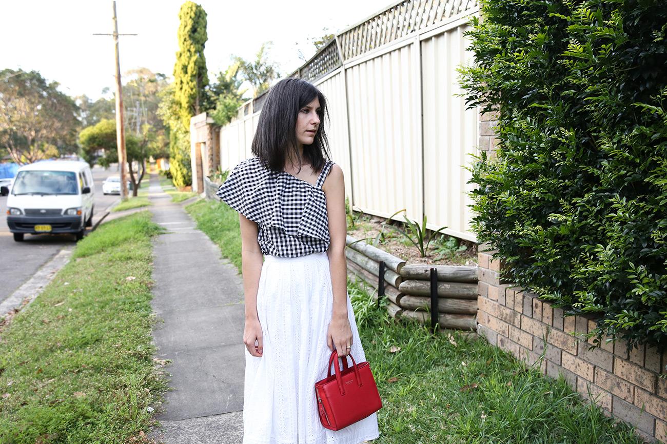 Gingham Girl Mademoiselle A Minimalist Fashion Blog