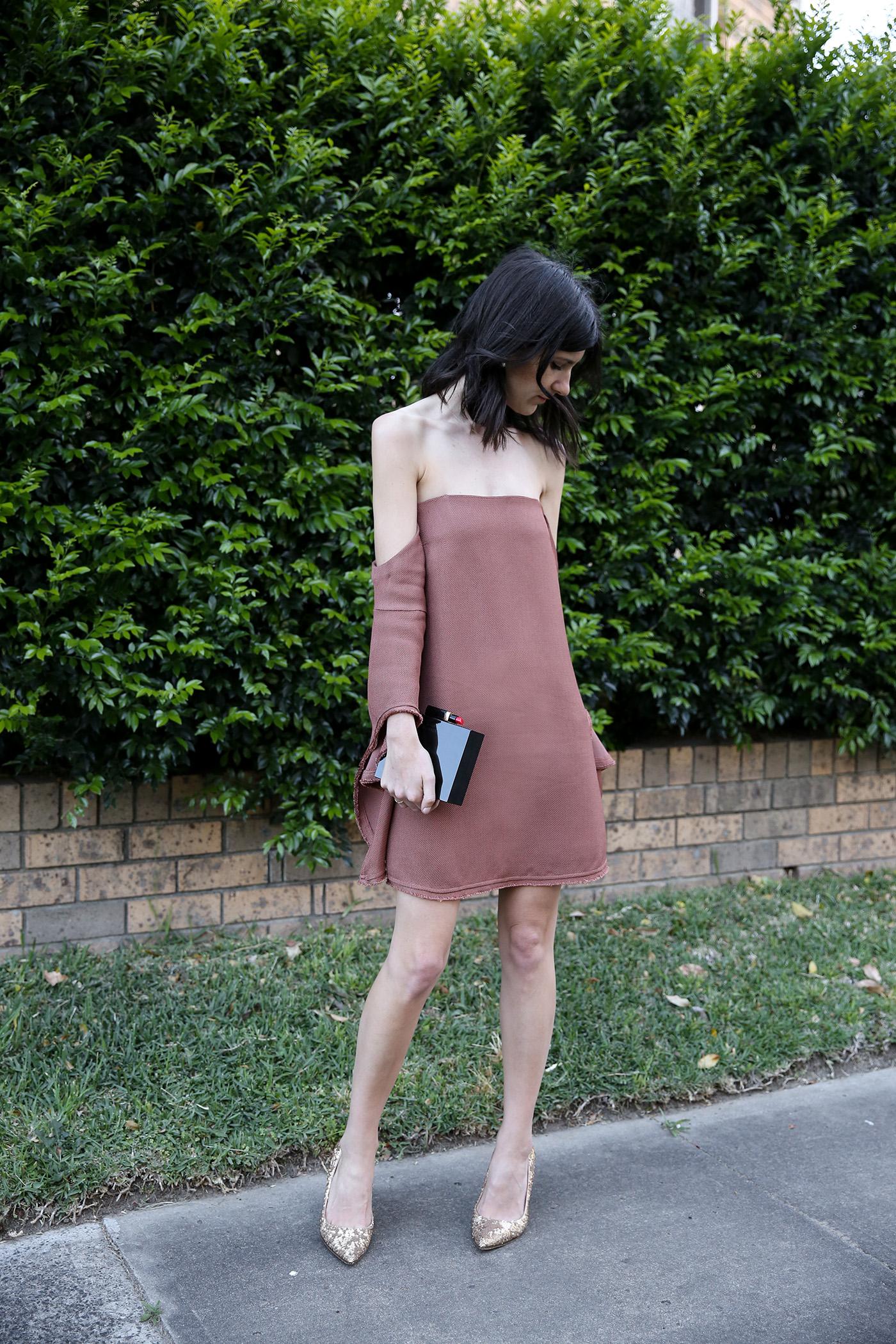 camilla and marc nolana mini dress outfit