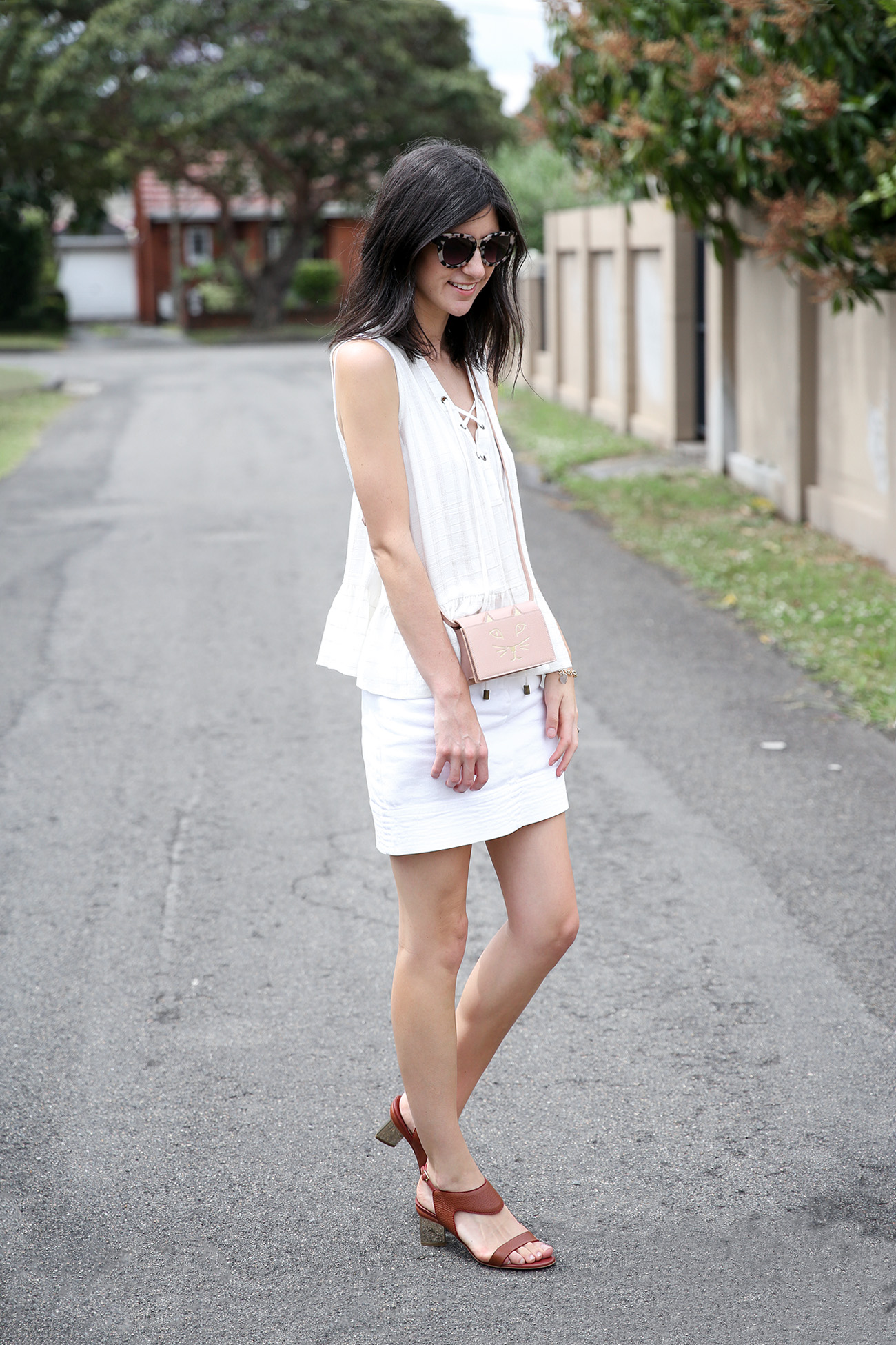 white outfit summer mademoiselle