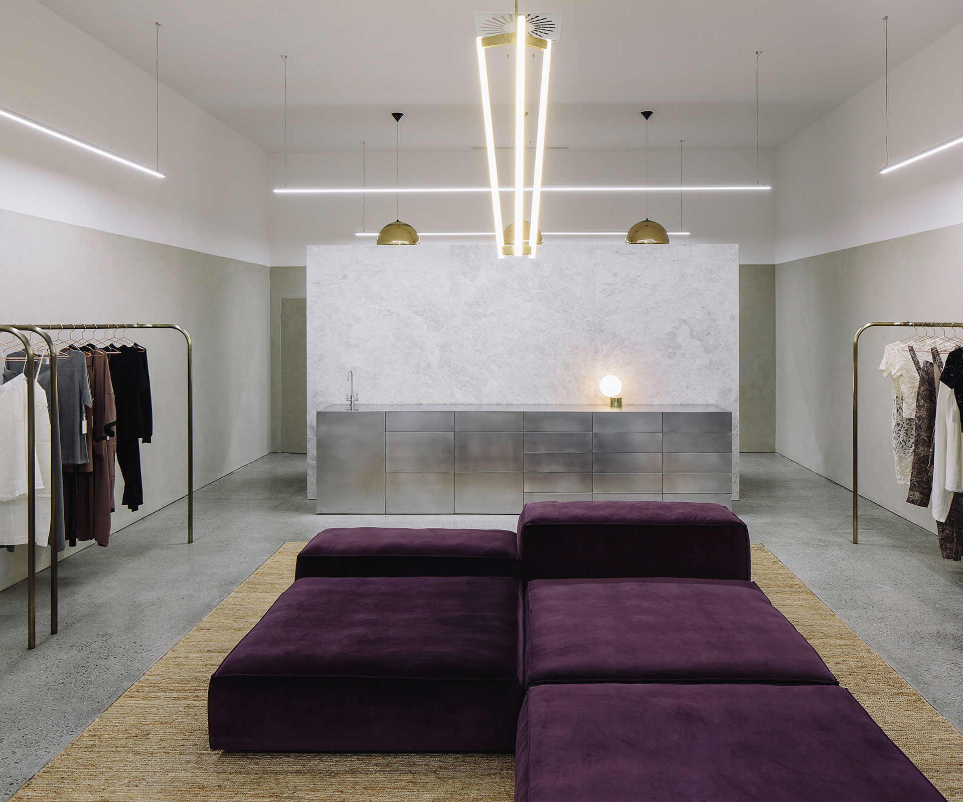 lonely boutique wellington ponsonby minimal interiors rufus knight