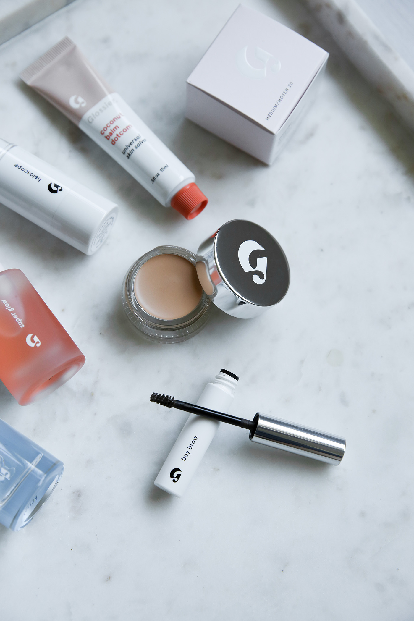 glossier beauty make up review minimal