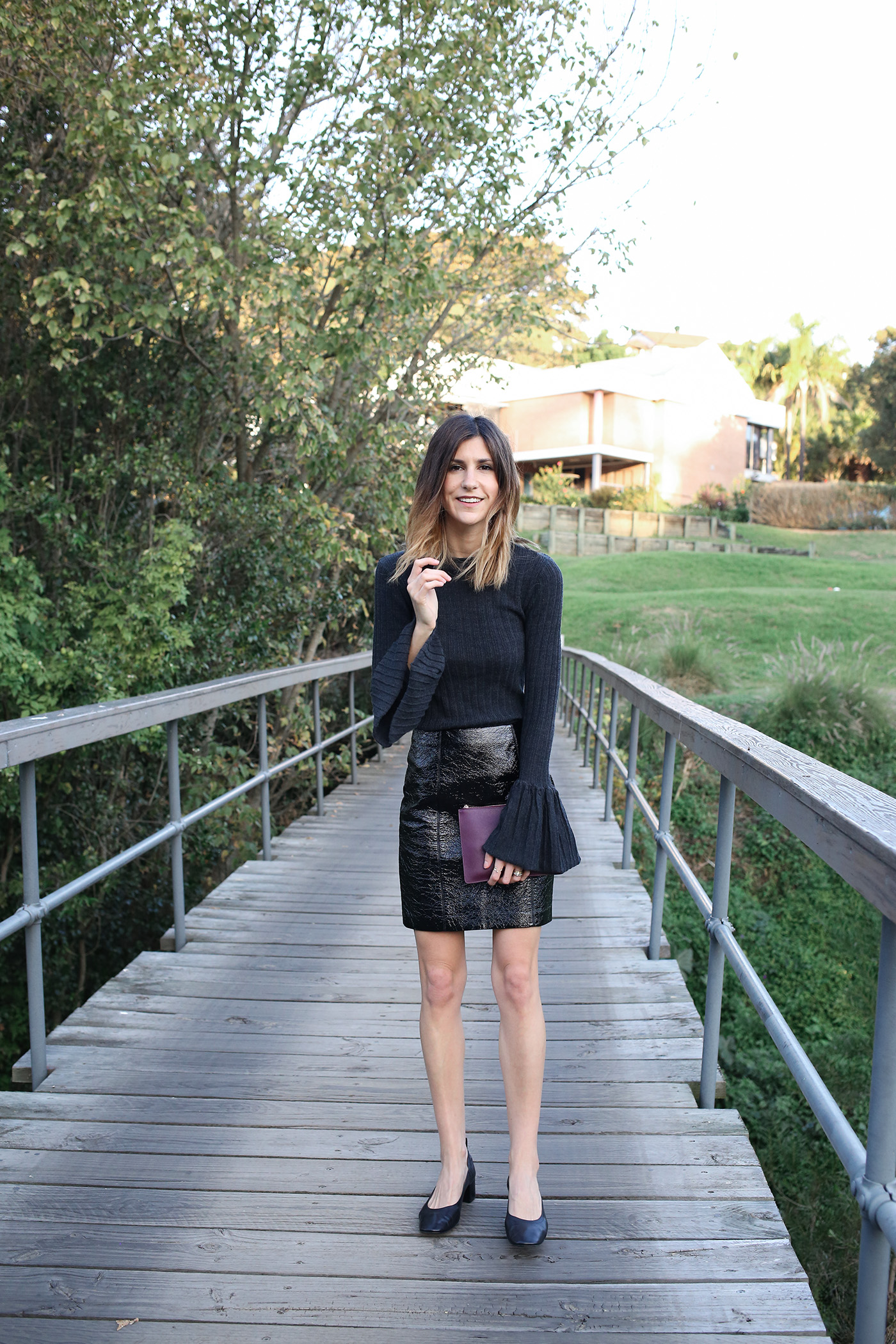 how to style bell flared sleeves